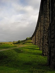 The Wrong Side of the Tracks (RoystonVasey) Tags: canon digital ixus 95 is north yorkshire dales ydnp settle carlisle railway ribblehead summer