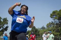 SONC SummerGames18 Tony Contini Photography_0534 (Special Olympics Northern California) Tags: 2018 summergames trackfield throwing athlete femaleathlete teamalameda adultathlete spirited specialolympics