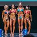 Grandmasters Bikini 4th Sarah Wilson 2nd Lisa Allen 1st Vanessa Barrett 3rd Andrea Sevilla