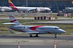 Consorcio Aereo De X Dassault Falcon 2000LX sn 289 XA-DFN (djwilliams1990) Tags: madrid barajas adolfosuarez spain aviation aircraft
