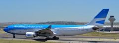 Aerolineas Argentinas Airbus A330-203 msn 634 LV-GKP (djwilliams1990) Tags: madrid barajas adolfosuarez spain aviation aircraft