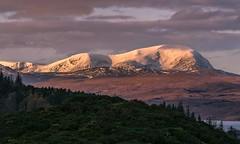 Sunrise - Ben Hope, Sutherland (linda.m.davison@btinternet.com) Tags: ngc scotland sutherland snow morning sunrise benhope kyleoftongue
