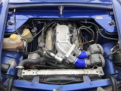 (Sam Tait) Tags: ford prefect pop popular anglia 100e blue v6 efi injection classic vintage retro rare car