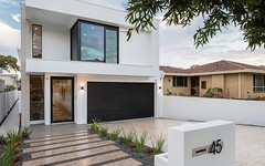 45 Kadina Street, North Perth WA