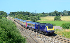 43153. (curly42) Tags: 43153 class43 hst 125 gwr railway highspeedtrain transport fairwoodjunction 1a77 express