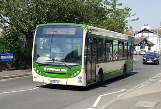 Compass Bus YX09 FKT Barnham 6/7/18