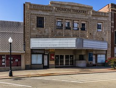 Dunkin Theatre (Kool Cats Photography over 10 Million Views) Tags: theatre oklahoma abandoned architecture street road