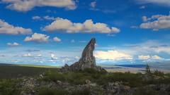 Finger Rock (Katy on the Tundra) Tags: fingerrock fingermountain daltonhighway haulroad