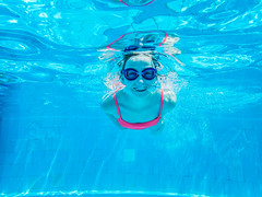 pooltime-5 (lermaniac) Tags: red pool swimingpool girl outdoors teen water countryclub underwater child blue dive