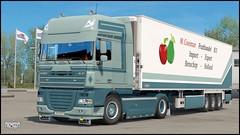 "DAF XF 105 ""M. Cooiman"" (Bepreeh) Tags: ets ets2 euro truck simulator 2 daf xf 105 cooiman"
