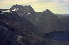 Cradle Mountain Profile 1991 03 (Paul Hollins) Tags: australia tasmania cradlemountain scan film 1991