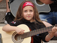 musician (albyn.davis) Tags: people girl child expression music musician guitar performance luxembourg