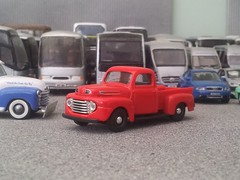 Ford F1 (quicksilver coaches) Tags: ford f1 pickup hongwell cararama 172 176 oo diecast model