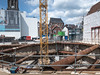 Gat in de markt (Jeroen Hillenga) Tags: groningen grotemarkt merckt bouw bouwput bouwen bouwplaats netherlands nederland stad city cityscape building