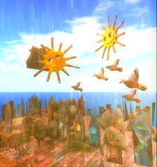 Sunny Day by Cica Ghost (Auroraselina) Tags: secondlife art sun cica