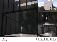 NEW! Eden Building @ Illuminate Event (Bhad Craven 'Bad Unicorn') Tags: bhad • craven second 2l life lindens profile picture photography bad unicorn badunicorn clothing buc bu secondlife graphics gfx graphic design photos pics photo sl urban mesh exclusive store blog shadows high quality decor production portrait image hd definition original meshes meshed 3d game characters art gaming concept concepts new top work progress wip ivy concrete large block modern minimal minimalist minimalistic open leaves skylight build
