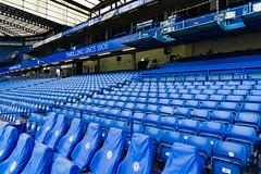 Blue is the colour (danieltamkl) Tags: sony a6000 sel1670z chelsea stamford bridge stadium football london fulham stamfordbridge blue hongkong hk chelseafc socceer colour