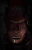 Māori Mask (Robert Borden) Tags: maori mask wood carving detail craft object ceremonial goodlight fuji fujifilm fujifilmxt2 50mm 50mmlens auckland newzealand nz travel