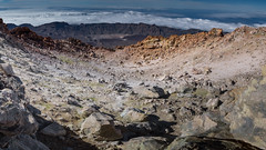 El Teide crater (osedok) Tags: hike crater spain pick tenerife outdoor teide volcano volcanic mountain