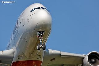 A6-EEB Emirates Airbus A380-800