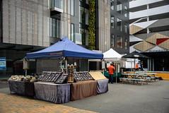 Street Market (Jocey K) Tags: newzealand nikond750 christchurch cbd building architecture marketstall