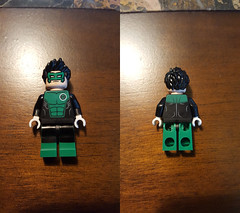 Green Guardian (Krejuski Customs) Tags: greenguardian green guardian dc comics dccomics lantern kyle rayner krejuskicustoms custom lego
