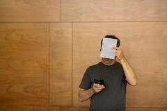 Gray Scale (backbeatb00gie) Tags: me nikon portrait dork grayscale setup work atwork wireless
