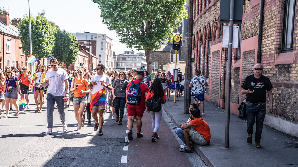 ABOUT SIXTY THOUSAND TOOK PART IN THE DUBLIN LGBTI+ PARADE TODAY[ SATURDAY 30 JUNE 2018]-141787