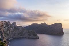 Cap de Formentor, Mallorca (borislakic) Tags: cap formentor sunset mallorca spain sea mountains bucht wasser landscape landschaft berg abhang cliff himmel meer felsen