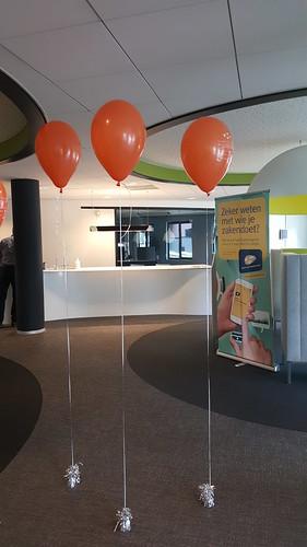Cloudbuster Rond 11 inch Bedrukt Kamer van Koophandel Rotterdam Jong KVK