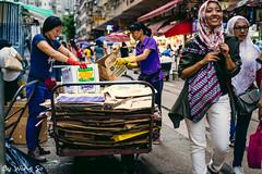 worker (obwing@ymail.com) Tags: tram hk hong kong 香港 電車 street snap 人 路 城市 建築物 market 市場 街市 北角 north point 春秧街 chun ye