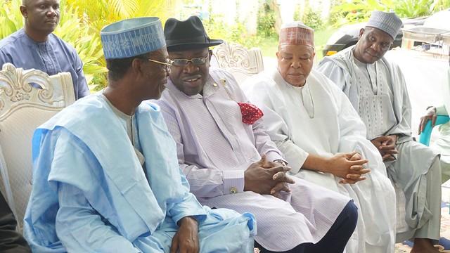 HSDickson-Condolence visit to Mallam Adamu Ciroma's Family in Abuja. 8th July 2018