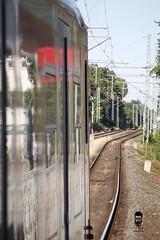 German Railroad (DJR-FOTO) Tags: railroad train sbahn bahn db red rot schienen schiene deutschland dortmund djrfoto djr germany