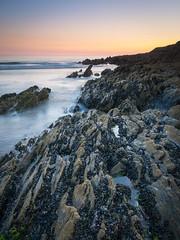 SAUNTON SANDS (tobchasinglight) Tags: artdeco beach coast dawn devon sand sauntonsands sunset surf â©paulmitchell