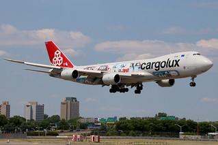 LX-VCM   Boeing 747-8R7F   Cargolux
