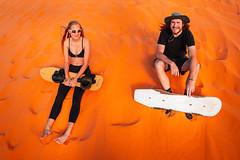 Sand Surfers (Luis Montemayor) Tags: sandsurfers sand arena dunes dunas surfers surfer man woman mujer hombre board tabla sandboard
