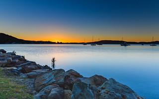 Sunrise Waterscape