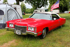 LYU76K 1971 Cadillac Eldorado. (day 192) Tags: chelford astlepark 1000enginesrally steamrally transportrally transportshow car cars classiccar cadillac eldorado cadillaceldorado lyu76k