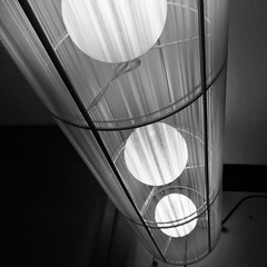 confessions of a lobbyist (jtr27) Tags: imge2123 jtr27 apple iphone iphone7 iphone7plus blackandwhite bw monochrome bn abstract square lights motel lobby