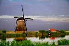 An evening at the Kinderdijk (sudweeks1) Tags: windmill holland netherlands canal kinderdijk