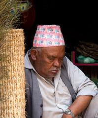 Sleeping shop keeper (SamKirk9) Tags: nepal kathmandu bhaktapur