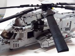 MH-53 Pawe Low (ravescat) Tags: mh53 mh 53 pawe low lego moc diorama sof ravescat eurobricko usaf special forces brick bricks sikorski crew