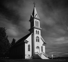 Lets Go To Church (Chris Lakoduk) Tags: waterville washington state church building old blackandwhite monochrome photography structure architecture nikon tamron