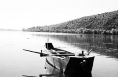(Kyriakos...) Tags: revueflex ac1 carl zeiss jena ddr mc flektogon 24 35 kodak colorplus 200 asa m42 boats lake bw film