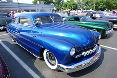 1949 Merc Custom (bballchico) Tags: 1949 merc mercury custom chopped coupe dannyashby customcarrevival carshow fatboy