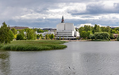 Helsinki, Finland (Ninara) Tags: helsinki finland architecture finlandiahall alvaraalto linnunlaulu finlandiatalo