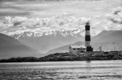 Race Rock Lighthouse (Northside-Images) Tags: canada vancouverisland racerocklighthouse blackandwhite monochrome leicacl