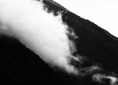 Without Any Doubt (John Westrock) Tags: nature blackandwhite monochrome mountains cloud minimal washingtonstate pacificnorthwest canoneos5dmarkiii canonef100400mmf4556lisusm northcascades landscape johnwestrock