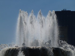 Chicago, IL Buckingham Fountain in Grant Park (army.arch) Tags: chicago illinois il park fountain grantpark buckinghamfountain historic historicpreservation nrhp nationalregister nationalregisterofhistoricplaces