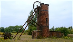 Western Pit (Sam Tait) Tags: western pit colliery ironstone derelict abandoned mine shaft headstock winding house brick building industrial architecture archaeology butterly park derbyshire